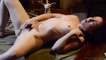 Passionate reading of an erotic novel, turns into a hot masturbation session for this beautiful girl that knows how to please herself.